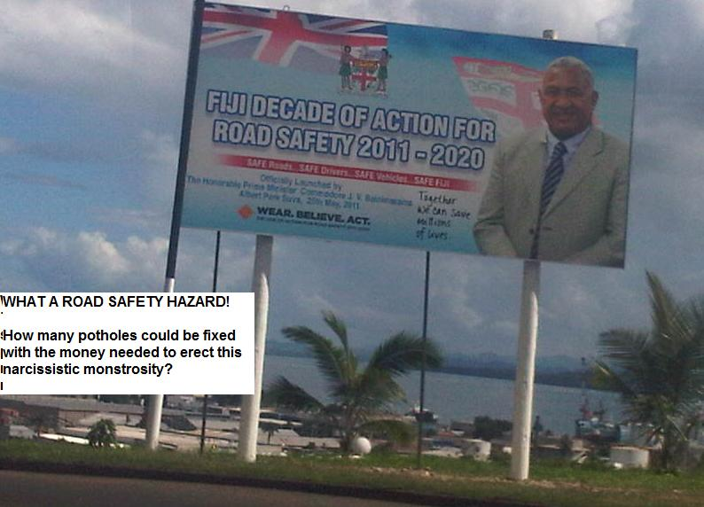road safety in fiji The authority believes that by incorporating overloading issue to its road safety campaign, it will address the problem of road damage which is a nationwide problem lta believes government spends millions of dollars annually on road maintenance.