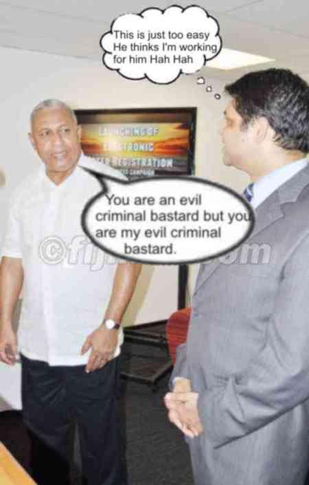 Why Bainimarama can't do without Khaiyum